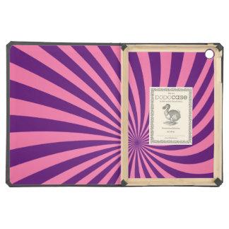 Vórtice púrpura rosado
