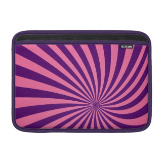Vórtice púrpura rosado fundas macbook air
