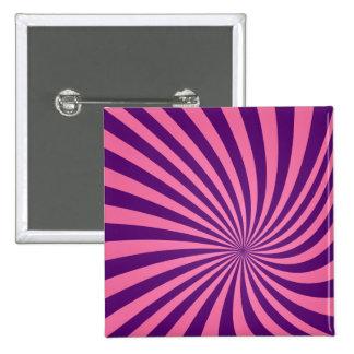 Vórtice púrpura rosado chapa cuadrada 5 cm
