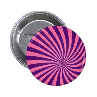 Vórtice púrpura rosado chapa redonda 5 cm