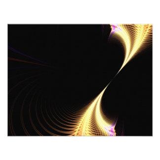 Vórtice púrpura surrealista del fractal comunicados personales