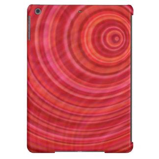 Vórtice rojo funda para iPad air