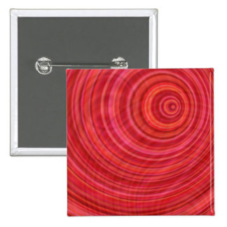 Vórtice rojo chapa cuadrada 5 cm