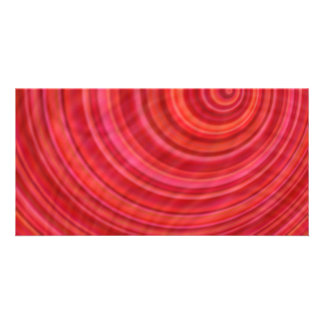 Vórtice rojo tarjetas fotográficas