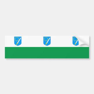 Vorumaa, Estonia flag Car Bumper Sticker