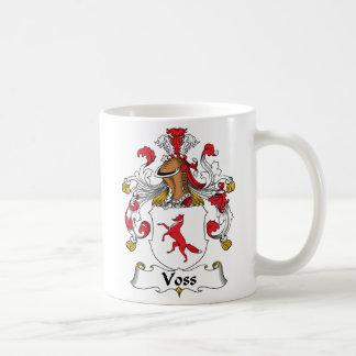 Voss Family Crest Coffee Mug