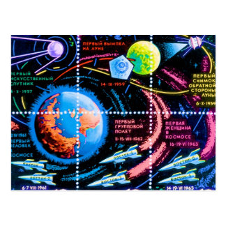 Vostok Postcard
