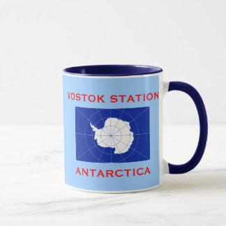 Vostok Russian Research Station Antarctica Mug