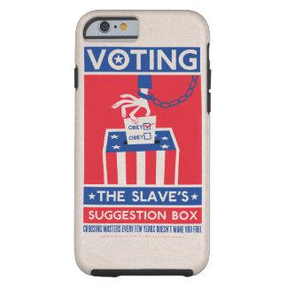 Votación de la caja del teléfono de la caja de la funda de iPhone 6 tough
