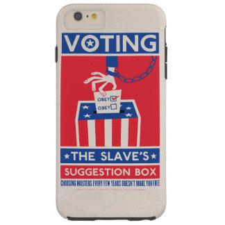 Votación de la caja del teléfono de la caja de la funda para iPhone 6 plus tough