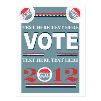 Votación de la elección postal