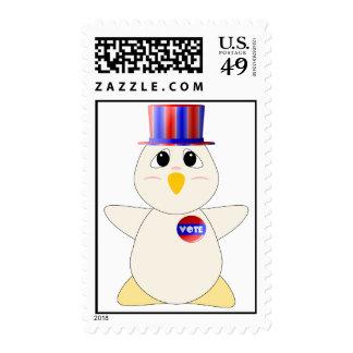 Votación Huggable del pollo Sellos