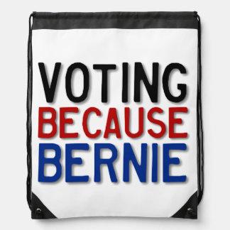 Votación porque Bernie Mochila