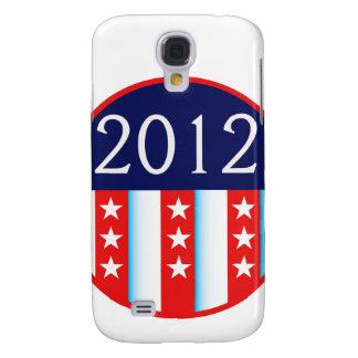 votación roja y azul del sello 2012 de la elección samsung galaxy s4 cover