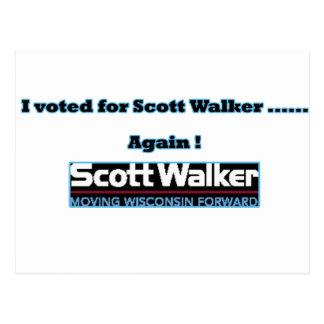 votado otra vez tarjeta postal