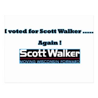 votado otra vez tarjetas postales