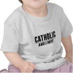 Votante de Cathoilc Camiseta
