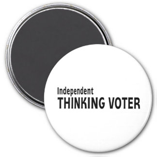 Votante de pensamiento independiente iman de frigorífico