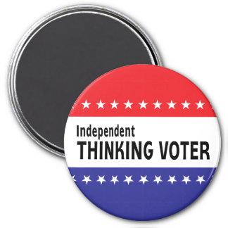 Votante de pensamiento independiente iman