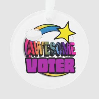 Votante impresionante del arco iris de la estrella