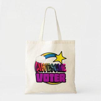 Votante impresionante del arco iris de la estrella bolsa