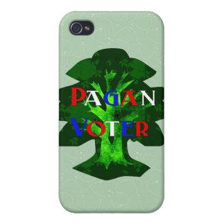 VOTANTE PAGANO iPhone 4 PROTECTORES