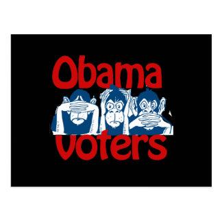 Votantes de Obama Postal