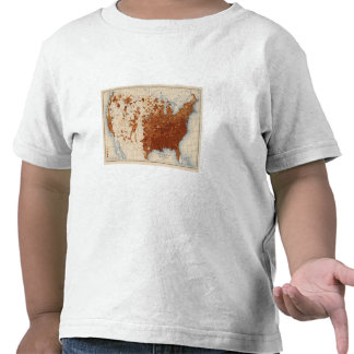 Votantes del negro de los illiterates de 80 propor camisetas