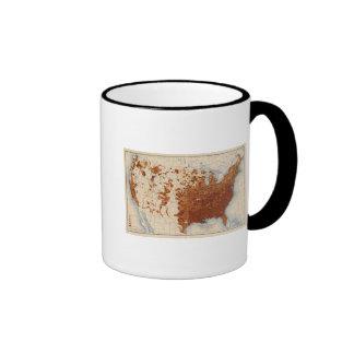 Votantes del negro de los illiterates de 80 propor taza de café