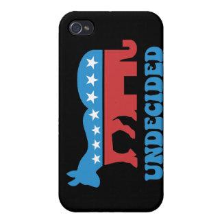 votantes indecisos iPhone 4 cárcasas