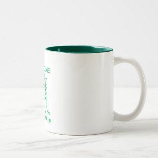 Vote4MeM Two-Tone Coffee Mug