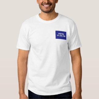 VOTE 11.02.10 t-shirt