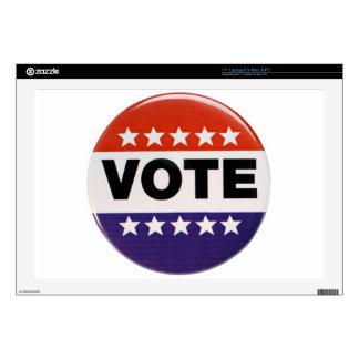 "Vote! 17"" Laptop Decal"