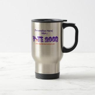 Vote 2008 D Travel Mug