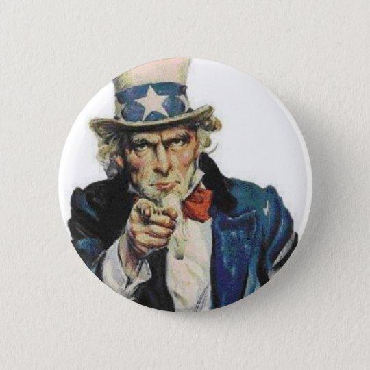 Vote 2008 pinback button