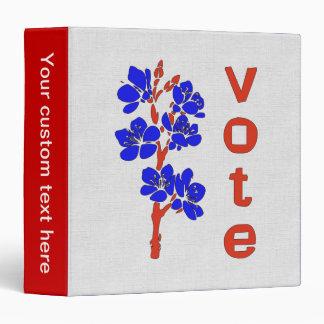 VOTE 2012 VINYL BINDERS