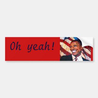 Vote 2012 car bumper sticker