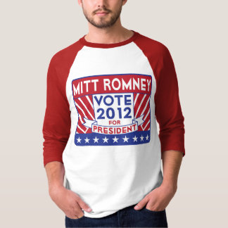 Vote 2012 Mitt Romney T-Shirt