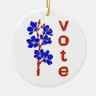 VOTE 2012 CHRISTMAS TREE ORNAMENT