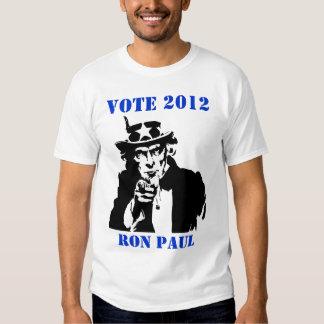 VOTE 2012 RON PAUL T-SHIRT