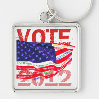 Vote 2012 T-shirts gifts Keychain