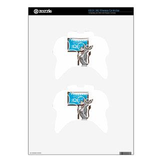 Vote 2016 Democrat Donkey Mascot Cartoon Xbox 360 Controller Skin