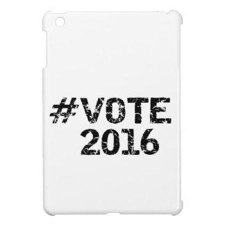 Vote 2016 Distressed Hashtag iPad Mini Cover