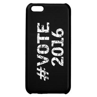 Vote 2016 Distressed Hashtag iPhone 5C Case