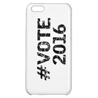 Vote 2016 Distressed Hashtag Cover For iPhone 5C