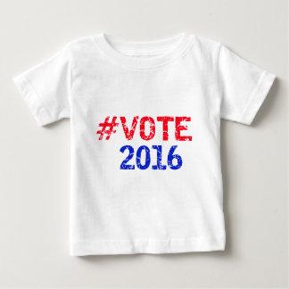 Vote 2016 Distressed Hashtag Shirt