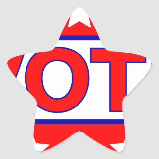 vote 2016 star sticker