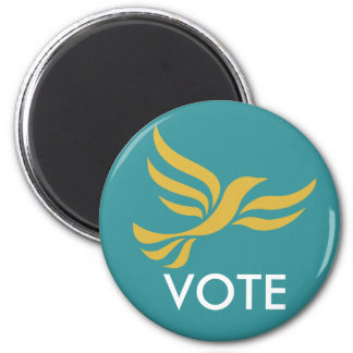 VOTE 2 INCH ROUND MAGNET