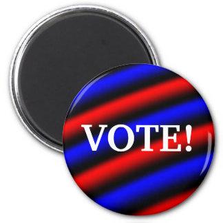 Vote! 2 Inch Round Magnet