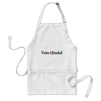 Vote 4 Jindal Aprons